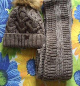 Женские тёплые шапочки