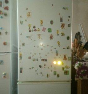 Двухкамерный холодильник Pozis б/у в рабочем состо