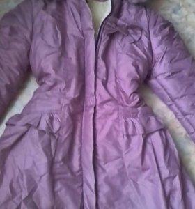 Зимнее пальто рост 134