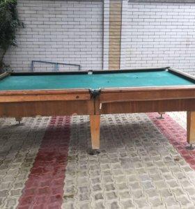 Бильярд, бильярдный стол