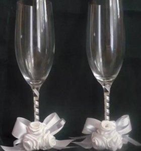 Фужеры для свадьбы