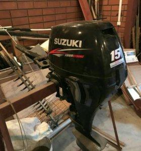 Лодочный мотор syzuki 15