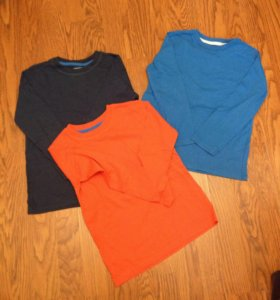 Набор футболок с длинным рукавом 5/6 лет 116 см