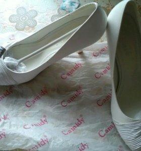Свадебные туфли 37 размера