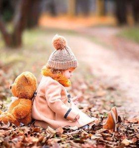 Фотограф. Осенняя детская фотосессия.