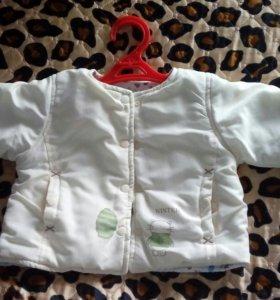 Курточка на девочку до 1.5 лет