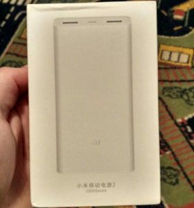 Xiaomi Power Bank на 20000 v2(портативная зарядка)