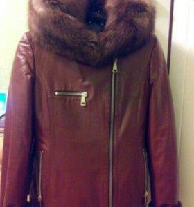 Куртка дубленка пальто