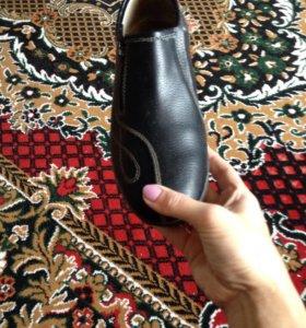 Ботинки , натуральная кожа
