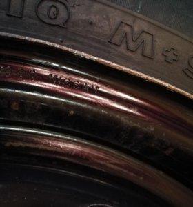 Колеса с дисками nord master