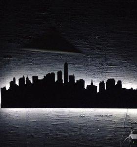 Настенная световая панель