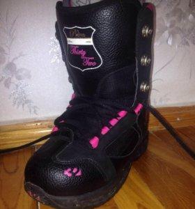 Сноубордическте ботинки женские