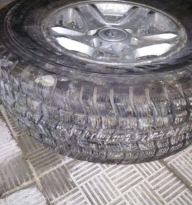 Колеса на джип тойота