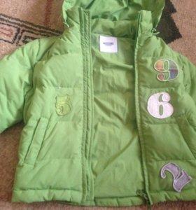 Куртка пуховая moschino