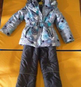 Зимний тёплый костюм на девочку