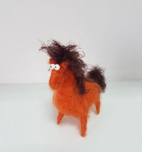 Рыжий конь :)