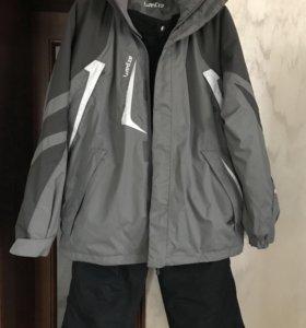 Горнолыжный костюм, мужской. 50-52 размер.