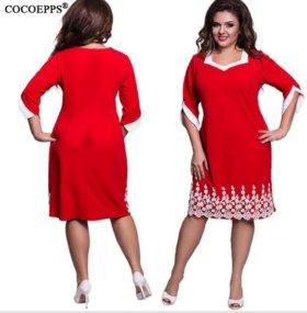 новое платье р.52-54