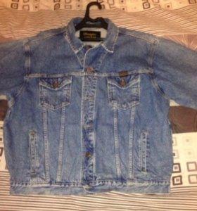 Джинсовый пиджак Вранглер