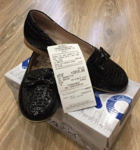 Новые Туфли kapika для девочки