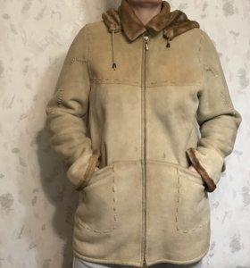 Дубленка женская 48-50 размера