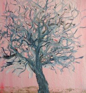 Картина, дерево