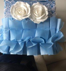 Коробка для сбора денег на свадьбу )))
