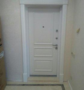Предлагаю установку входных и меж комнатных дверей