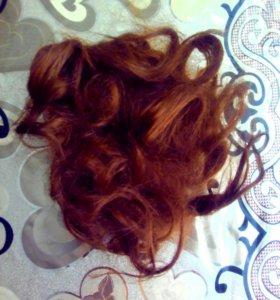 Шиньон натуральный волос