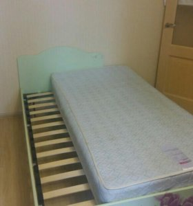 Ортопедическая кровать с матрасом