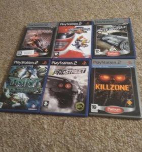 Игры на PS2 одна игра 300