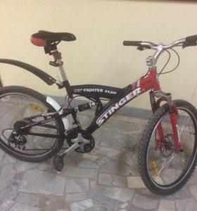 Велосипед stinger fighter sx 300