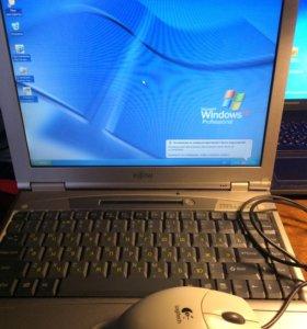 Раритетный рабочий ноутбук японского качества.