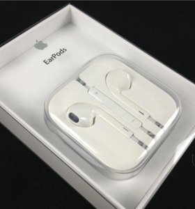 Новые EarPods with remote and mic