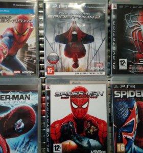 Spider-man (все части) для ps3