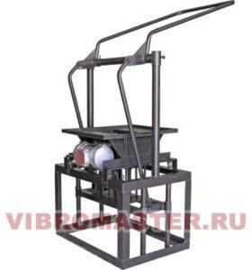 установка для производства блоков вибро мастер