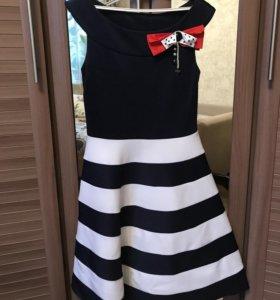 Платье праздничное с жакетом