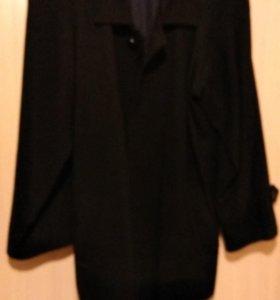 Пальто кашемировое мужское демисезонное