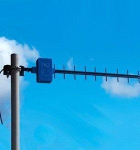 GSM, LTE, 3G антенны. Усиление интернет сигнала