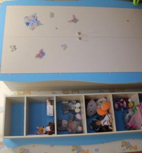 Детская мебель шкаф, стол