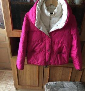 Тепленькая курточка для беременяшек