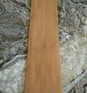 Массивный пол бамбук