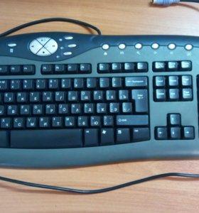 Мультимедийная клавиатура Kraftway kb-0108 PS/2