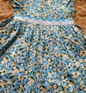 Платье на девочку 4 лет 110 см