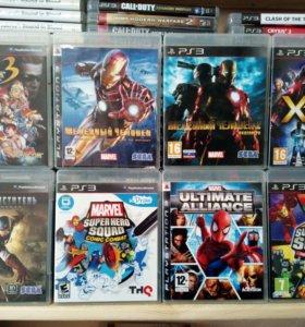 Игры PS3 про супергероев