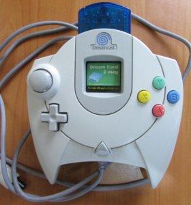 Геймпад Sega Dreamcast (Джойстик) + Карта памяти