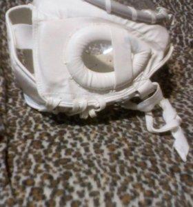 Шлем для восточных единоборств с защитным стеклом