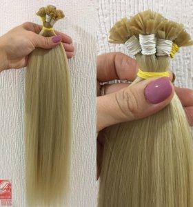 Славянские волосы на капсулах