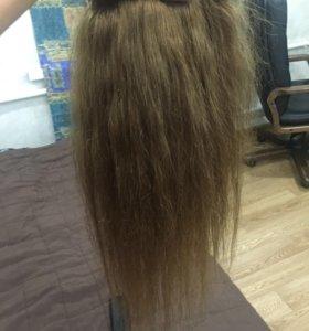 Продам волосы на трессе и капсулах