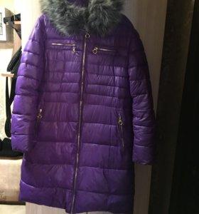 Пуховик зима 48-50